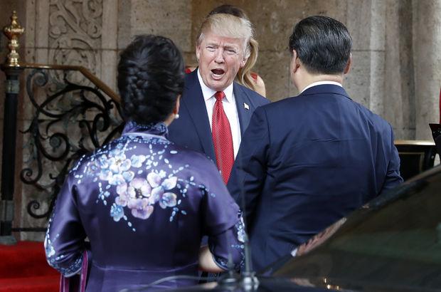 Donald Trump, Suriye'ye saldırı emrini pasta yerken vermiş!