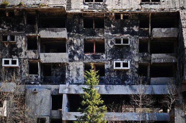 """Savaşın mirası """"hayalet mekanlar"""" onarım bekliyor"""