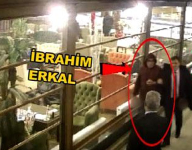 İbrahim Erkal'ın son görüntüleri