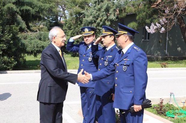 Kemal Kılıçdaroğlu'nun askeri törenle karşılanmasına inceleme