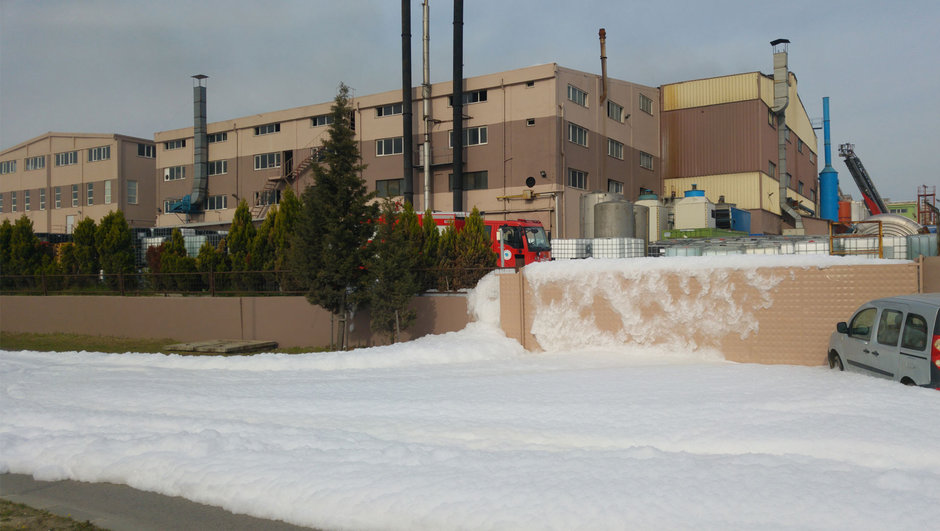Tekirdağ kimyasal sızıntı Çerkezköy