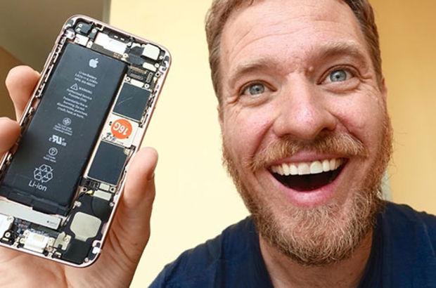 Scotty Allen Çin'de topladığı parçalarla iPhone 6s üretti
