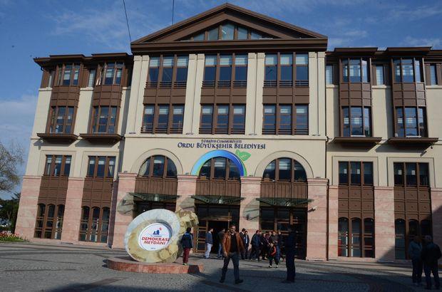 Ordu Büyükşehir Belediyesi'nde 'böcek' araması