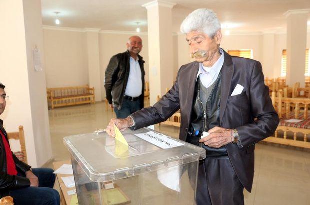 Türkiye'nin tek seçmenli sandığı Batman'da