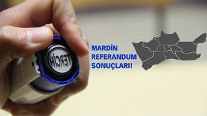 Mardin Referandum sonuçları 2017 Evet Hayır oranı