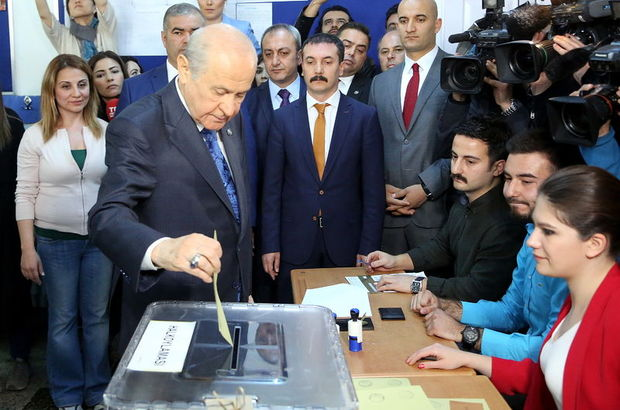 Devlet Bahçeli'den referandum sonuçlarına ilişkin açıklama