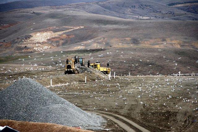 400 ton çöpten 10 bin haneye elektrik ürerildi