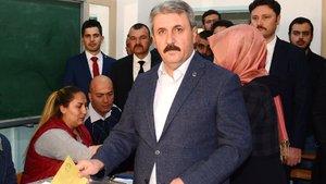BBP lideri Mustafa Destici'den referandum açıklaması