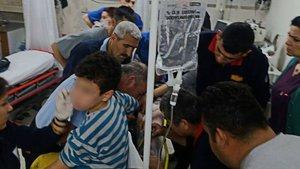 Mersin'de 11 yaşındaki çocuk elini kıyma makinesine kaptırdı