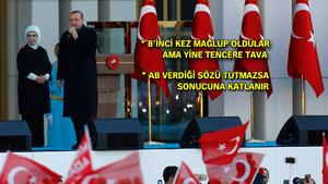 Erdoğan'dan AGİT'e: Haddinizi bilin, siyasi içerikli raporları görmeyiz
