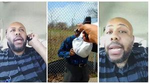 Facebook'ta canlı yayında adam öldürdü