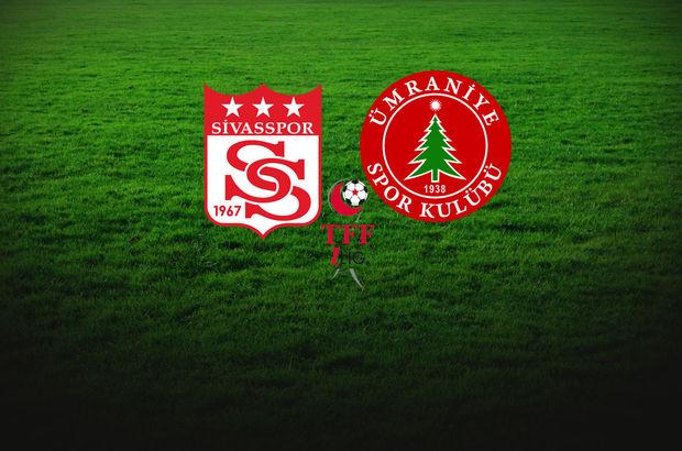 Sivasspor - Ümraniyespor maçı ne zaman, saat kaçta, hangi kanalda?