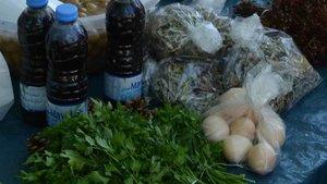 Ekolojik pazar, ev hanımlarının gelir kapısı oldu