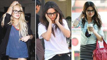 Hollywood'un gözlüklü ünlüleri