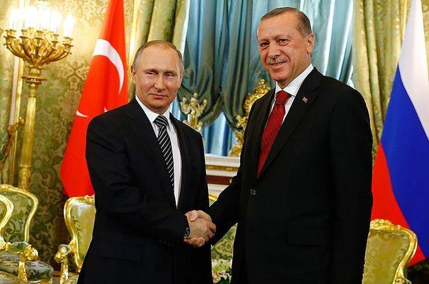 Putin Cumhurbaşkanı Erdoğan