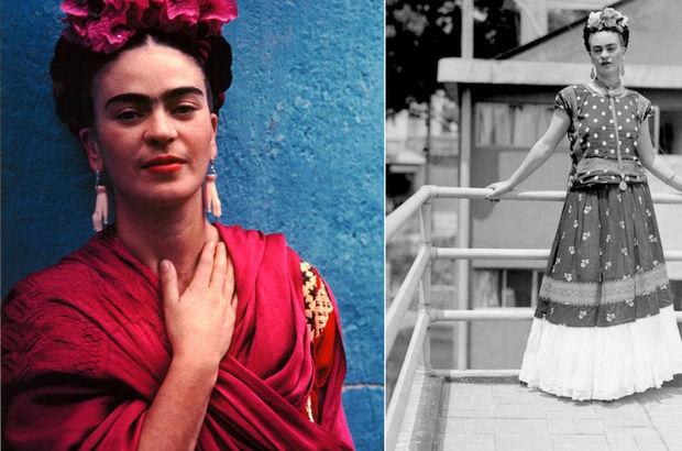 Frida Kahlo'nun 50 yıllık gizli dolabı açıldı, eşyaları ortaya çıktı