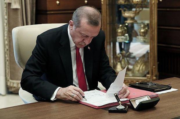 Cumhurbaşkanı Recep Tayyip Erdoğan 3 üniversiteye rektör atadı