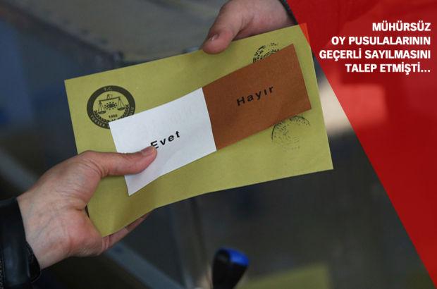 AK Parti YSK Temsilcisi Özel: Seçmen de mühür de gerçek!