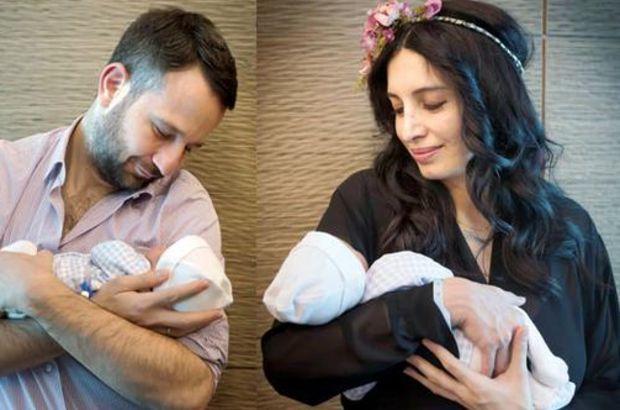 Başak Sayan'dan çocuklarıyla ilk poz
