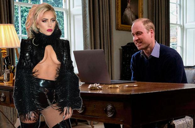 Lady Gaga İngiltere Prensi'ni facetime ile aradı