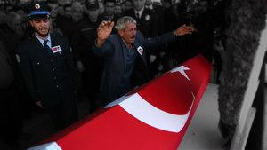 Tunceli şehidi Mesut Özdemir için cenaze töreni düzenlendi