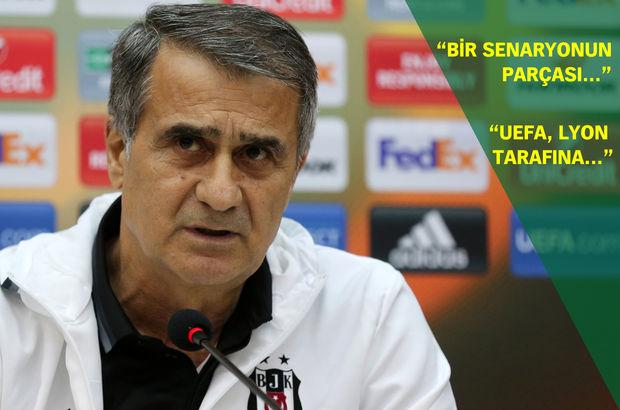 Şenol Güneş Beşiktaş Lyon basın toplantısı