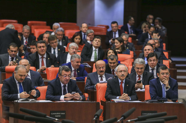 CHP'den 'Meclis'ten çekilme' açıklaması