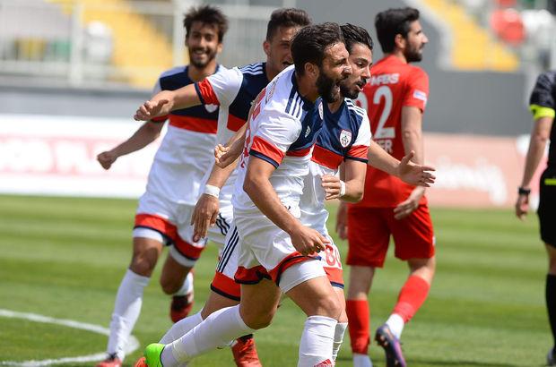 Altınordu: 2 - Boluspor: 0   MAÇ SONUCU