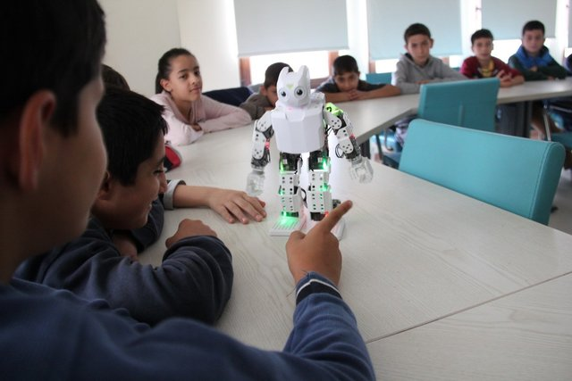 Türk robotlar bu atölyede üretiliyor