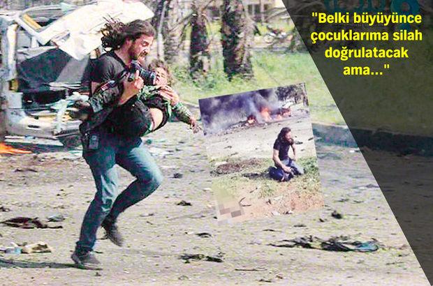 Dünyanın konuştuğu gazeteci Suriyeli Abdülkadir o anı anlattı!