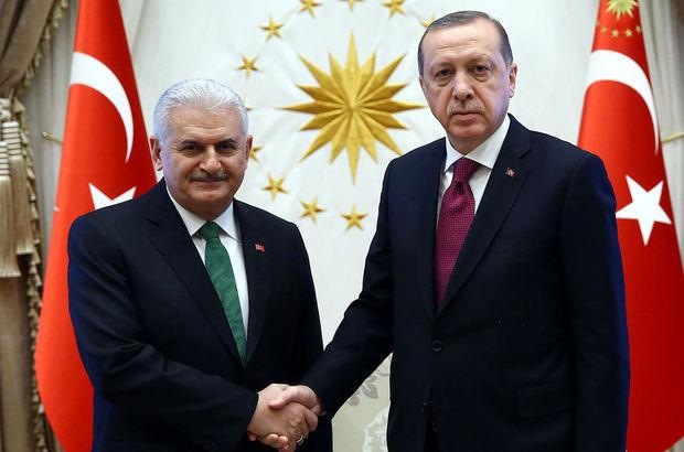 Erdoğan-Yıldırım referandumdan sonra ilk kez görüştü
