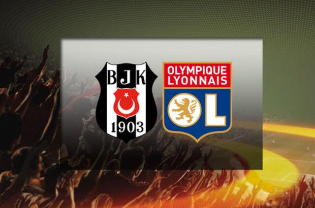 Beşiktaş, Lyon'u ağırlıyor