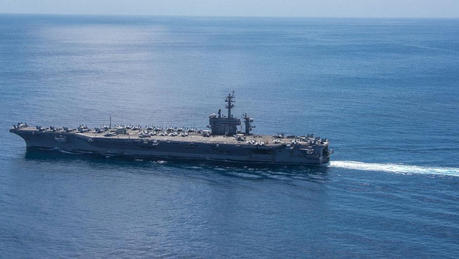 ABD SCarl Vinson Uçak Gemisi Kore Yarımadası