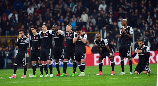 Beşiktaş - Lyon maçındaki penaltı atışları...