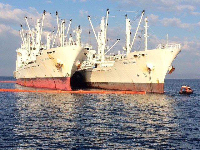 Çevreyi kirleten gemiye 5 milyon TL ceza geliyor