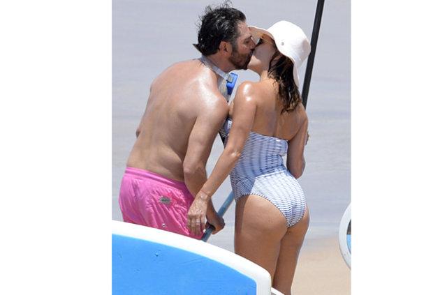Eva Longoria ile eşi Jose Baston tatilde