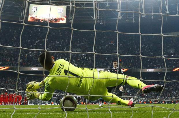 Anthony Lopes: Quaresma'nın şutu direkten dönmeseydi, sevinen Beşiktaş olacaktı