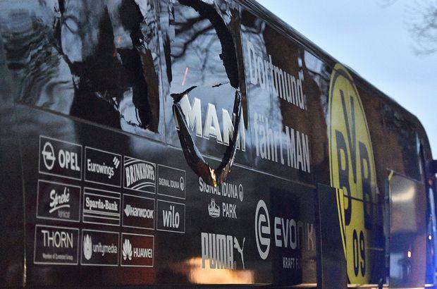 Borsada kar etmek için Dortmund otobüsüne bomba!