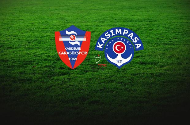 Karabükspor - Kasımpaşa