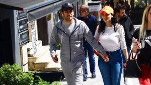 Murat Yıldırım ve eşi İmane Elbani adeta zamanla yarıştı