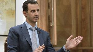 Esed'e göre Suriye'de yüz binler değil, on binler öldü