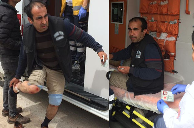 Ambulanstan inip bir anda oraya koştu! Herkes şaştı kaldı