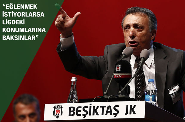 Beşiktaş'tan Galatasaray'a sert yanıt: