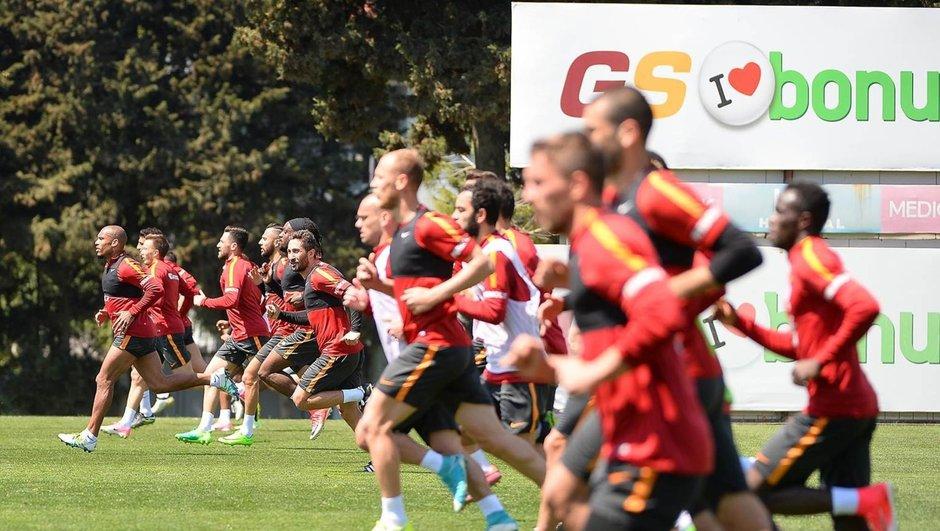 Galatasaray derbi hazırlıkları