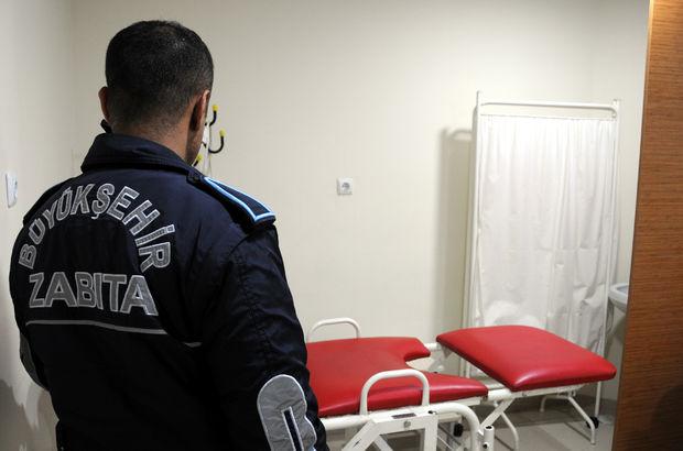 Gaziantep'te Suriyeliler'in ruhsatsız polikliniğine baskın