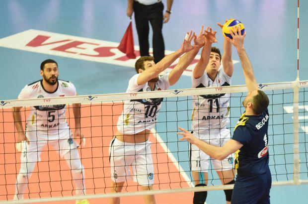 Fenerbahçe: 1 - Arkas Spor: 3