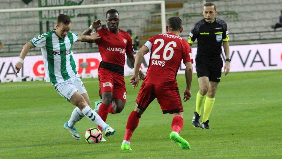 Atiker Konyaspor: 1 - Gaziantepspor: 2 | MAÇ SONUCU