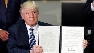 Donald Trump'tan üç yeni başkanlık kararnamesi