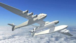 Uzay için en büyük uçak yapılıyor