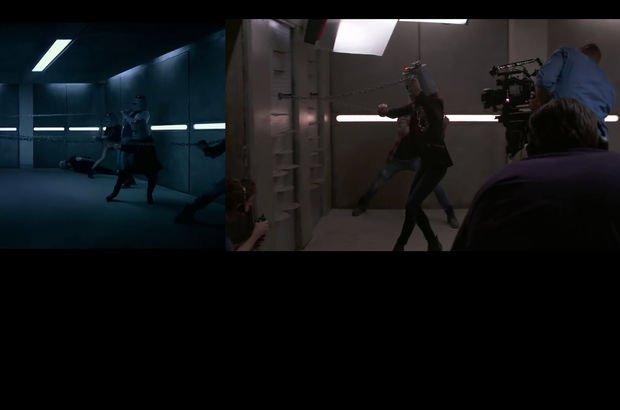 Hızlı ve Öfkeli'nin kamera arkası görüntüleri